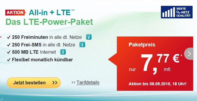 helloMobil startet mit zwei LTE Prepaid Tarif-Highlights im September