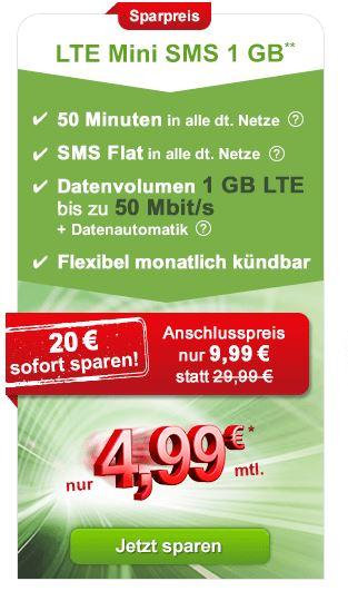 maxxim LTE mini SMS 1 GB