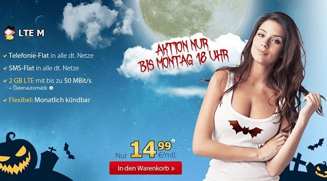 DeutschlandSIM LTE Prepaid Aktion