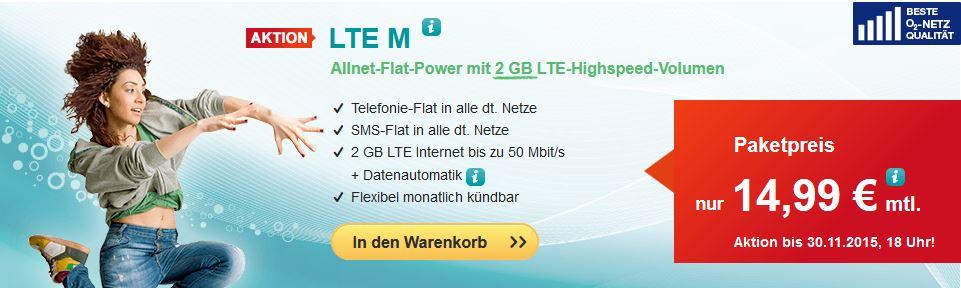 hellomobil LTE M Tarif ohne Vertrag