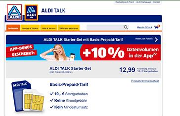 ALDI TALK LTE Prepaid