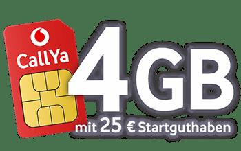 CallYa Smartphone Allnet Flat Tarif